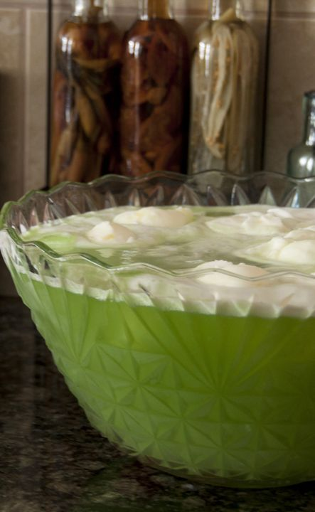 Green Lime Sherbet Punch recipe that is great for any holiday, especially Christmas, St. Patrick's Day, or a baby shower! Everyone loves this at parties!