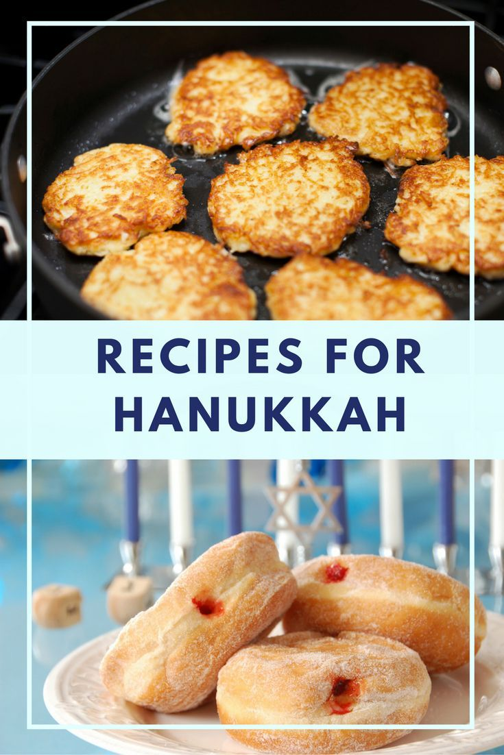 You'll love our 15 different latke recipes and plenty of donuts and other fried foods!