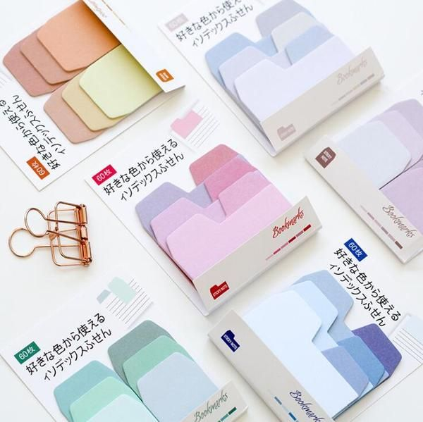 Write notes, index your journal, bookmark your book. You can even make mini calendars  or weekly habit trackers  with these sticky notes. Each set has 60 sheets in total.