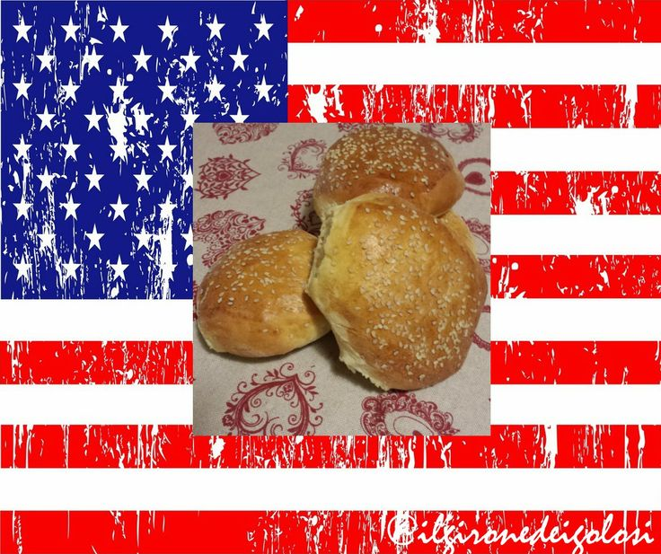 BURGER BUNS AMERICAN STYLE