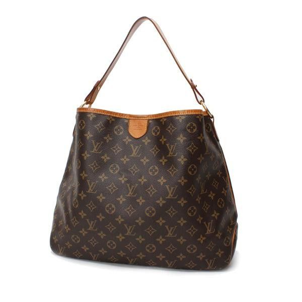 Louis Vuitton Delightful MM Monogram Shoulder bags Brown Canvas M40352