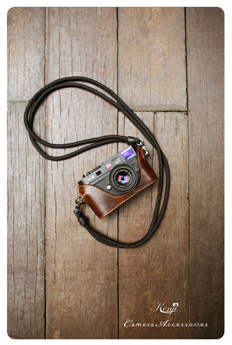 Kenjileather Leather half case for Leica M8, M9