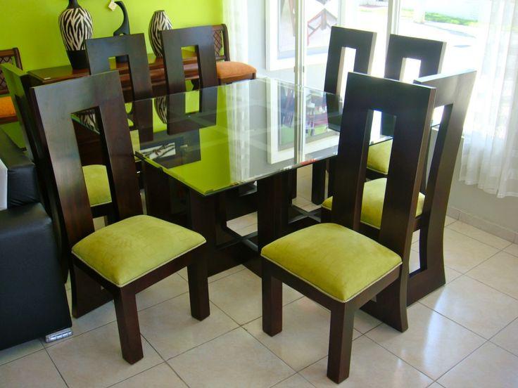 Mejores 8 im genes de comedores modernos de madera en for Diseno de interiores venezuela