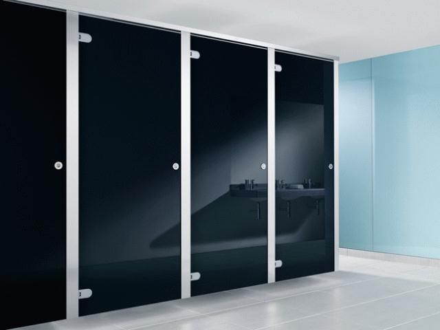 Commercial restroom partitions google office toilet for Commercial bathroom partition doors