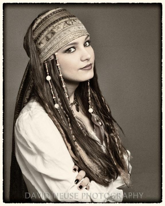 Female Pirate Makeup