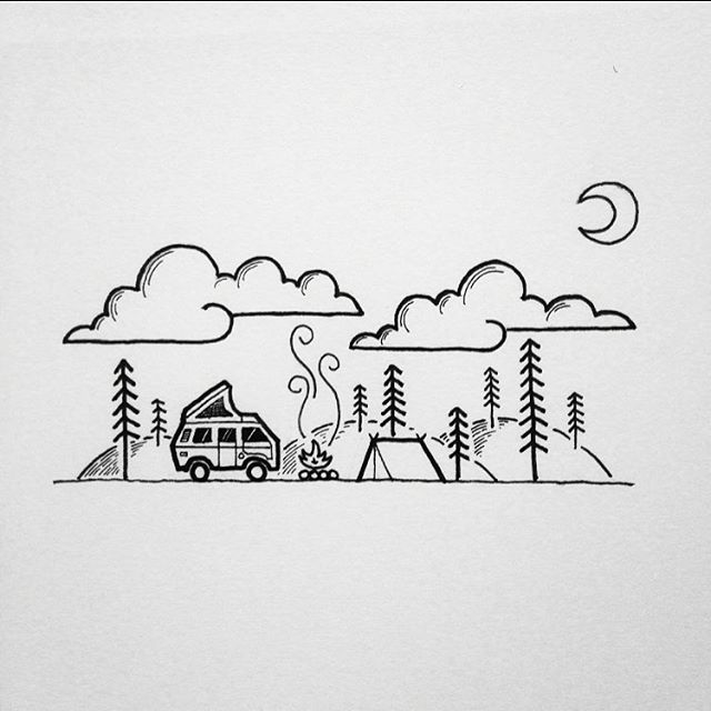 We had been wishing we would get an entry from @david_rollyn for the Vanlife Couring in book! Thank you so much David. It's gonna be the raddest! We still have 10-15 pages free for any artists and illustrators keen to enter. We would love some from EUROPE!!!! Please tag any of your friends that may be interested. Email entries to vanlifediariesaustralia@gmail.com  J.D ✌️