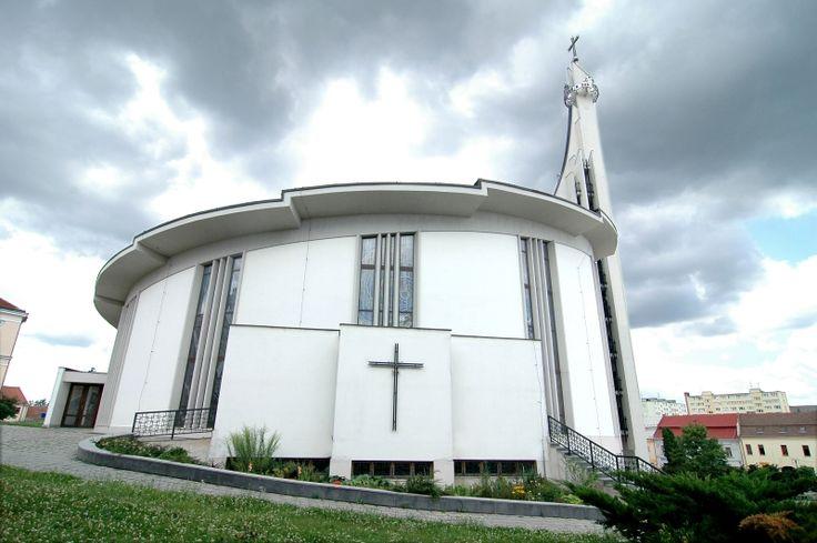 Hustopeče - nový Kostel sv. Václava