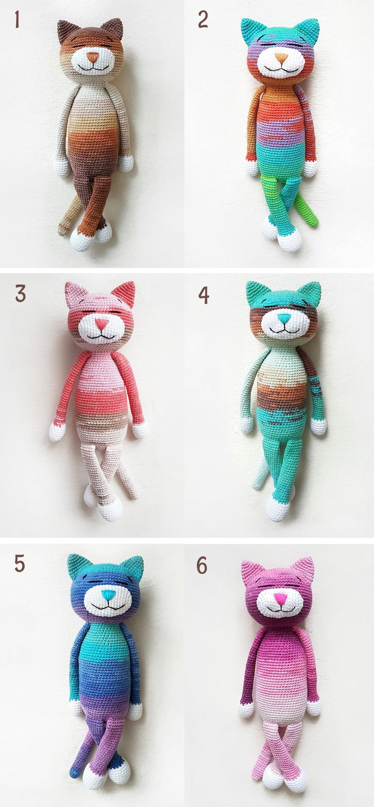 Very sweet design, well written and easy to follow instructions!!  Super designer! #cat #amigurumi #crochet #crochetdoll