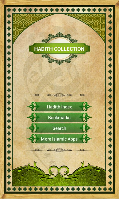 Get access to Hadiths from the authentic collections of Bukhari, Muslim, Abu Dawud, Tirmidhi, Nasa'i, Ibn Majah and more on you're Android Phones and Tabs :). Download it here: https://play.google.com/store/apps/details?id=com.easeapps.hadithfree
