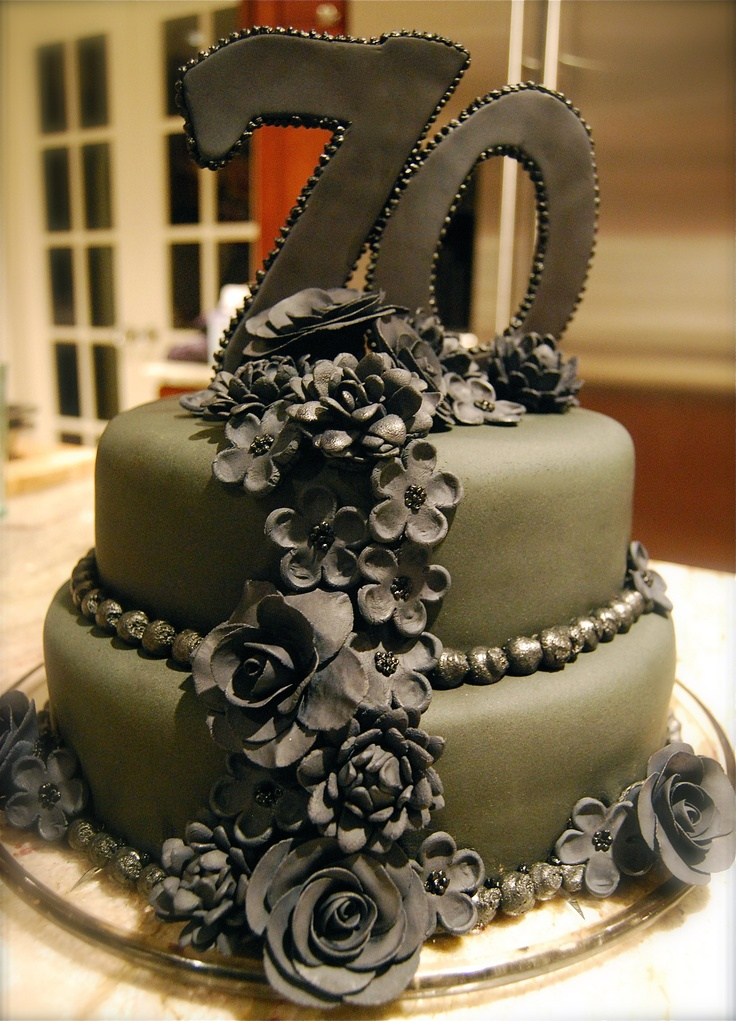 129 best cakes 70th birthday images on pinterest for 70 birthday decoration ideas
