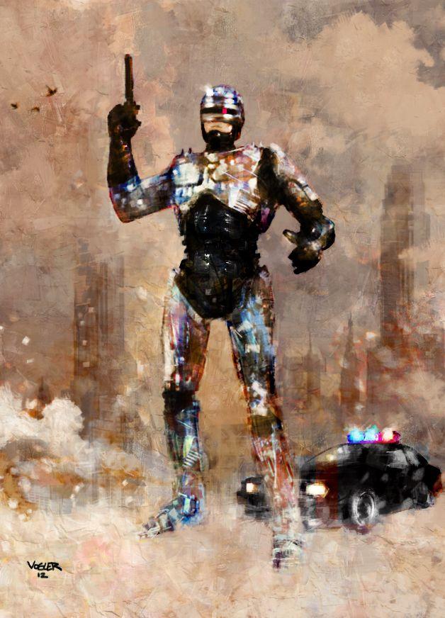 Robocop by Ryan Vogler