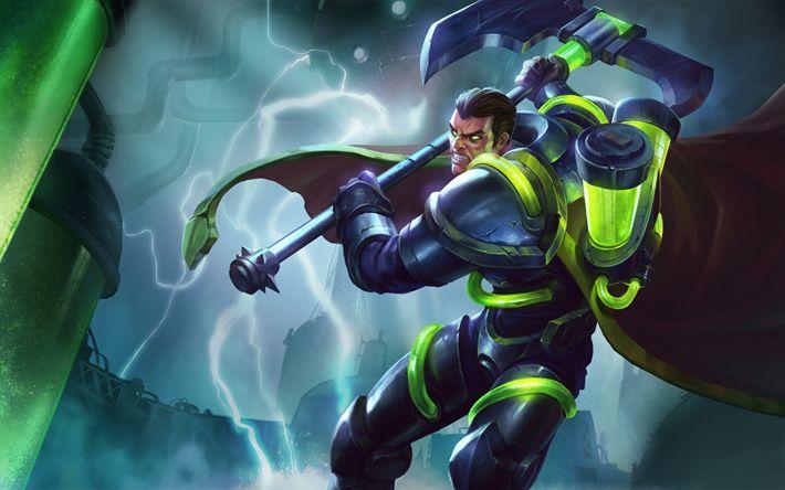 Download imagens Dario, caracteres, arte, League Of Legends