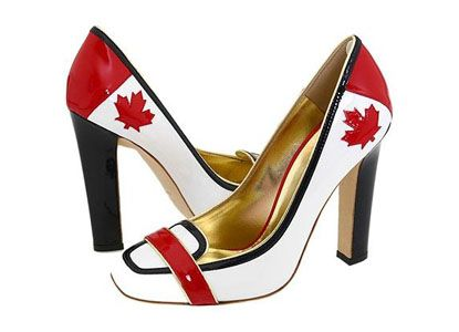 I am Canadian!    http://www.canadiandesignresource.ca/officialgallery/page/2/?s=shoes&searchbutton=Go!