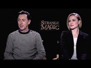 "Strange Magic: Exclusive: Alan Cumming and Evan Rachel Wood -- We go one-on-one with actors Alan Cumming and Evan Rachel Wood to talk about ""Strange Magic"". -- http://www.movieweb.com/movie/strange-magic/exclusive-alan-cumming-and-evan-rachel-wood"