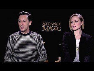 "Strange Magic: Exclusive: Alan Cumming and Evan Rachel Wood -- We go one-on-one with actors Alan Cumming and Evan Rachel Wood to talk about ""Strange Magic"". -- http://www.movieweb.com/movie/strange-magic/exclusive-alan-cumming-and-evan-rachel-wood"