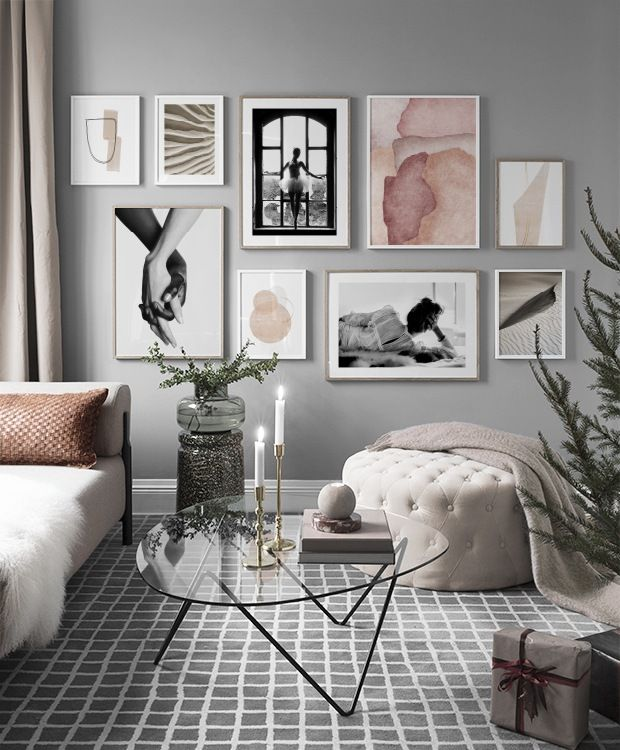 Gallery Wall And Picture Wall Inspiration Desenio Co Uk Home In