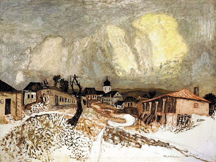 Horia Bernea, Peisaj