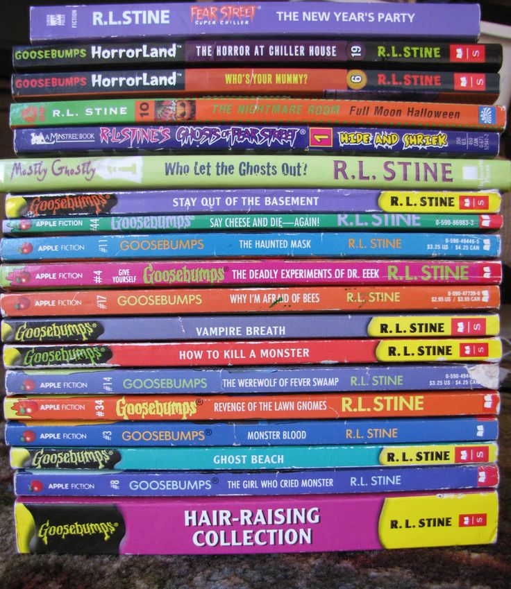 Used Lot of 8 Goosebumps Books