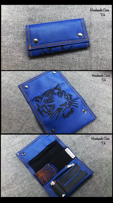 Tiger..Tobacco Case with Synthetic Leather https://www.facebook.com/Vassoartistiko
