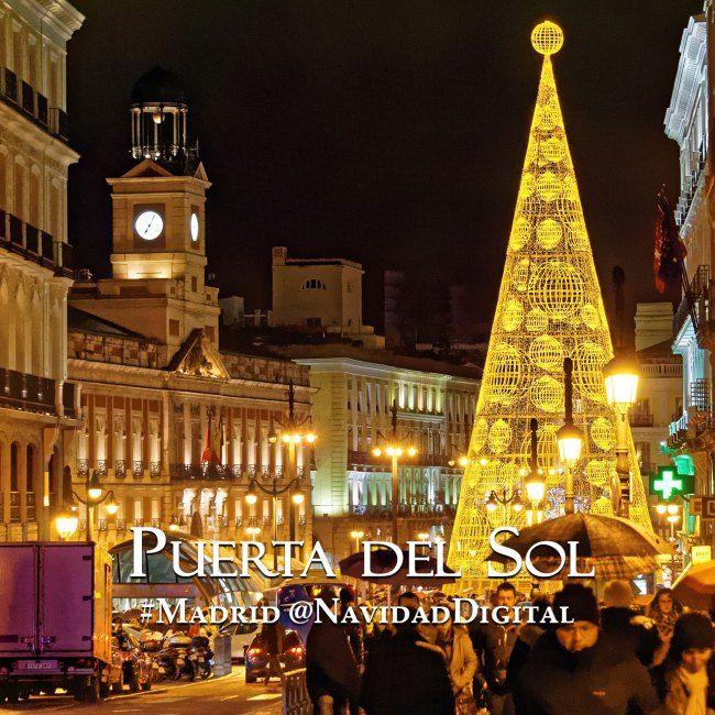 La Puerta del Sol de Madrid esta Navidad 2014 | Madrid Sol Christmas tree
