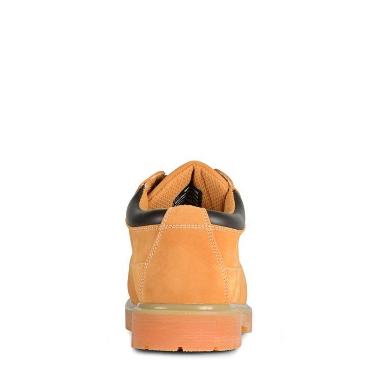 Lugz Men's Drifter Low Top Steel Toe Work Oxford Shoes (Wheat/Bark/Tan/Gum)