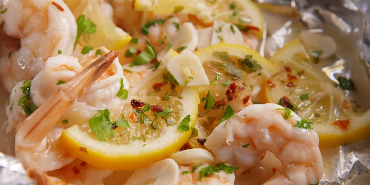 Best Foil-Pack Shrimp Scampi Recipe - How To Make Foil-Pack Shrimp Scampi