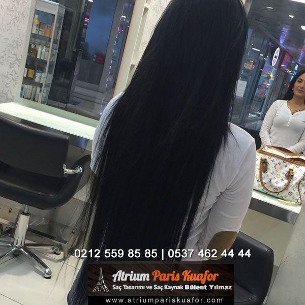 Çok uzun bir mikro saç kaynak uygulama sonrasi #atriumpariskuaför #kaynaksaç #saçkaynak #saçmodelleri#mikronanokaynak #uzunsaç #görünmezsaçkaynagı