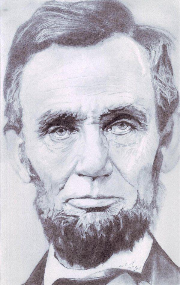 Abraham Lincoln by ~rahultokas on deviantART #CelebrityArt #Art