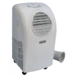 """SPT Portable Cooling/heater, 7500 BTUs, WA-7500M .. size w16"""" x L16"""" x Height 30"""" ... cools up to  200ft tent/sm cabin etc ... self-evaporative technology that allows it to save energy while taking moisture from the air to cool down the coils."""