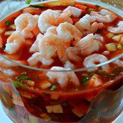 Original Mexican Shrimp Cocktail - Allrecipes.com ♥