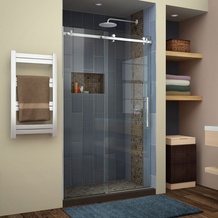 Best 25 Sliding Shower Doors Ideas On Pinterest Shower