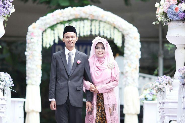 Our dream come true wedding #outdoorwedding #rusticwedding #surabayawedding #javanesewedding