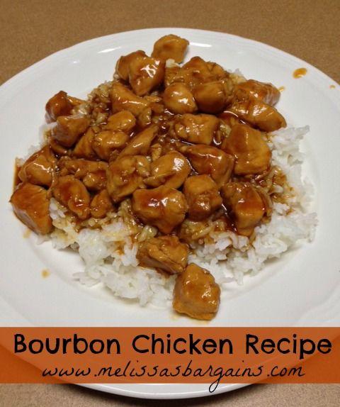 Easy Bourbon Chicken Recipe - kid friendly!