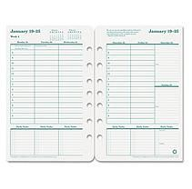 FranklinCovey Original Dated Weekly/Monthly Planner Refill, Jan.-Dec., 5-1/2 x 8-1/2 -  2015