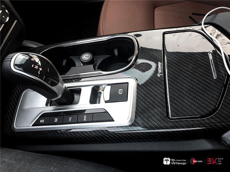 VST Carbon Fiber Interior Trim Kit For Maserati Ghibli 14 16