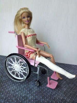 Barbie kerekesszék