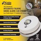 Asset a smoking alarm from a site supply expert kidde 2-in-1 Integrated Talking Smoke Alarm / LED Strobe Light 120V With 10 Year BBU #SupplyExpert #Canada #SmokingAlarm #Shopping #LED