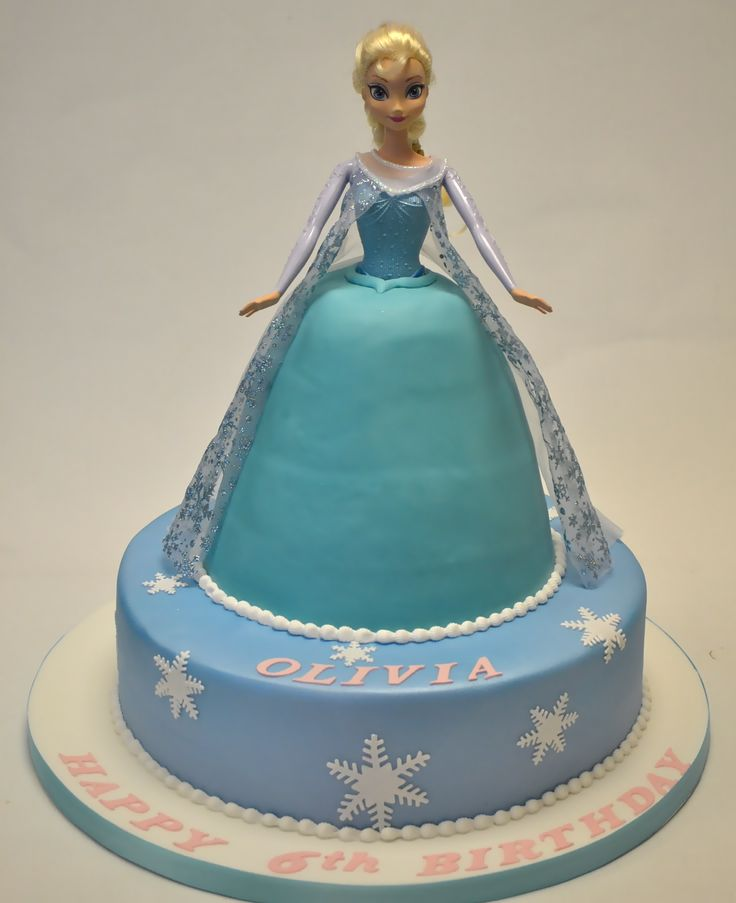 Frozen Barbie Cake Design : 17 Best ideas about Frozen Doll Cake on Pinterest Elsa ...