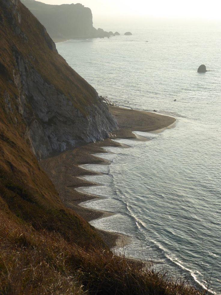 Dorset coast near Lulworth Cove.♔..