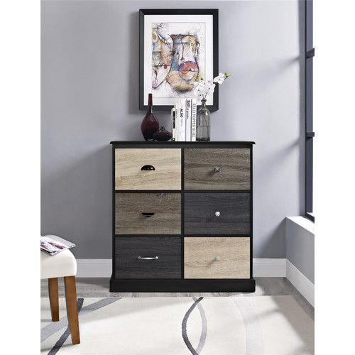 Found it at Wayfair - Blackburn 6 Cube Storage Unit