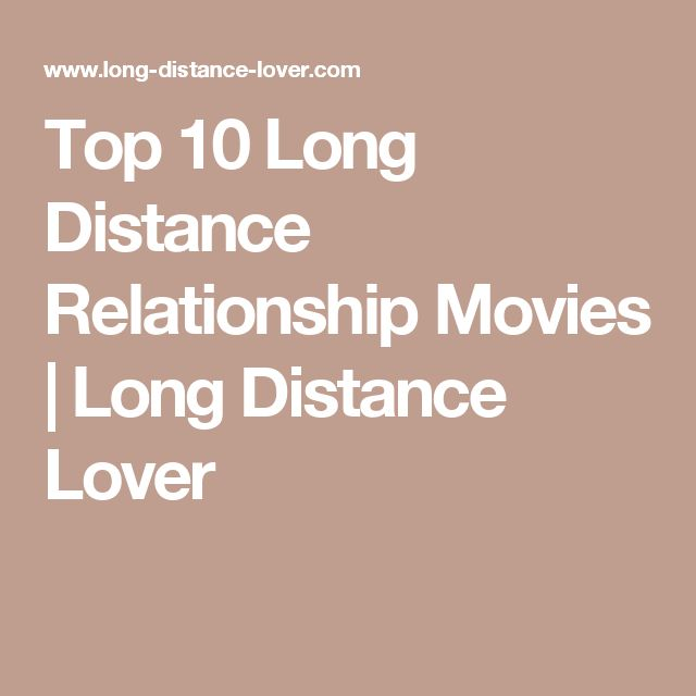 long distance relationship movies imdb