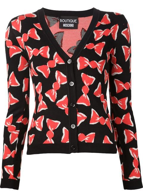 Boutique Moschino candy wrap cardigan