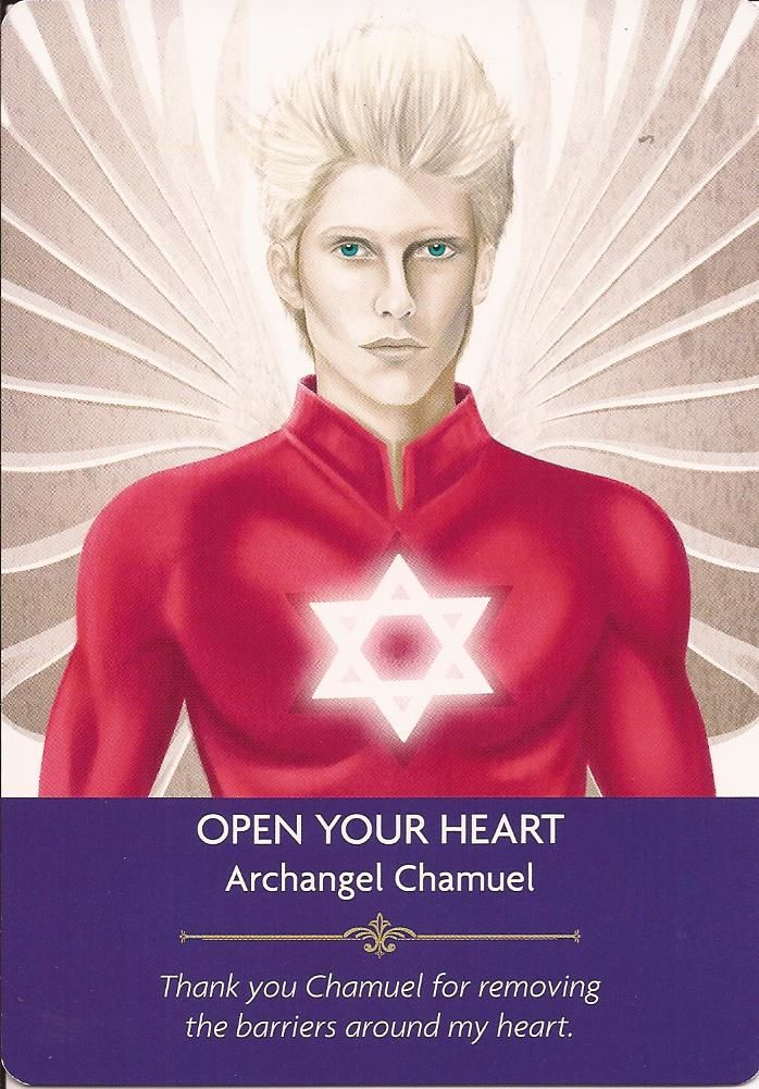 Hello Everyone! ~ <3 ~ Card Of The Day ~<3 ~ Open Your Heart ~ <3 ~ Life can often hurt us, and make us feel pain, so we build barriers around our heart to protect it. Sadly, although it does protect our heart, the barriers also prevent us from showing the real love that is inside out hearts. We do not want to get hurt so the barriers come around us. We are asked to lower those barriers,show the beautiful love that is inside your heart, give that love to others, share your love and ...