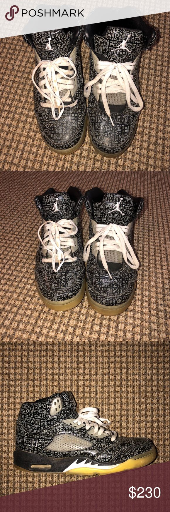 ✨Air Jordan Doernbecher 5 Glow in the Dark✨ Glow in the dark. Condition 7/10, the shoe is almost perfect the laces just need a little wash. Barely worn. Super dope shoe, selling at a great discount! Jordan Shoes Athletic Shoes