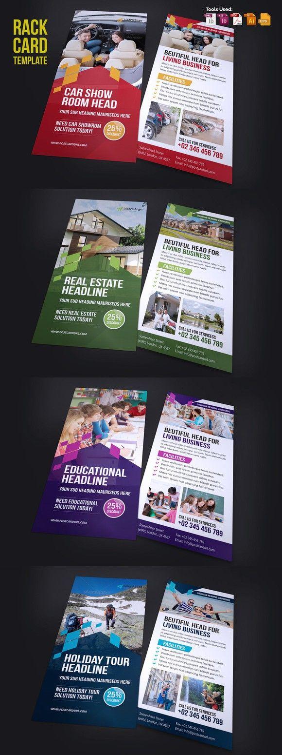 78 best design rack cards images on pinterest brochure design rack card design v2 reheart Images