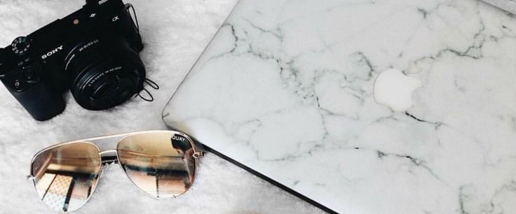 White Marble Laptop Skin for Apple MacBook Pro and MacBook Air - vinyl sticker decal covers.