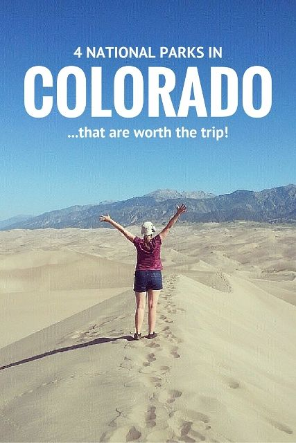 Did you know these four national parks were in #Colorado?