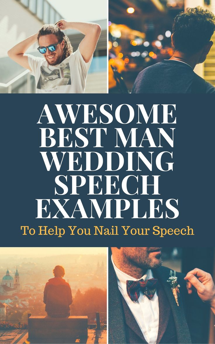 best man speech examples