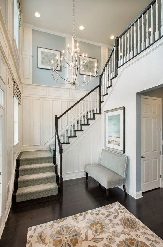 Foyer Ideas For Townhouse : Best ideas about foyer paint colors on pinterest