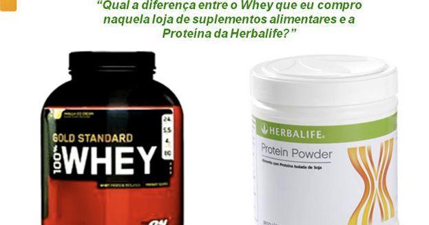 "Best Fit a Nutrir Beleza: Qual a diferença entre a Whey e a ""Protein Powder"" Herbalife?"